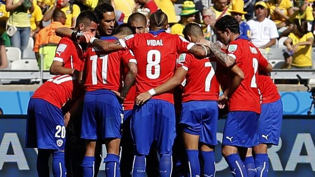 Foto  Photosport La inolvidable campaña de Chile en el Mundial de Brasil  2014 b85df5a30f057