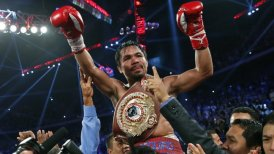 Manny Pacquiao retó a un combate a Floyd Mayweather