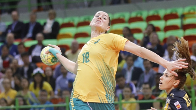 Brasil clasificó con sufrimiento a cuartos de final del balonmano ...