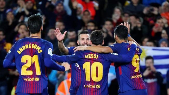 FC Barcelona aplastó a Celta de Vigo y avanzó a cuartos de final en ...