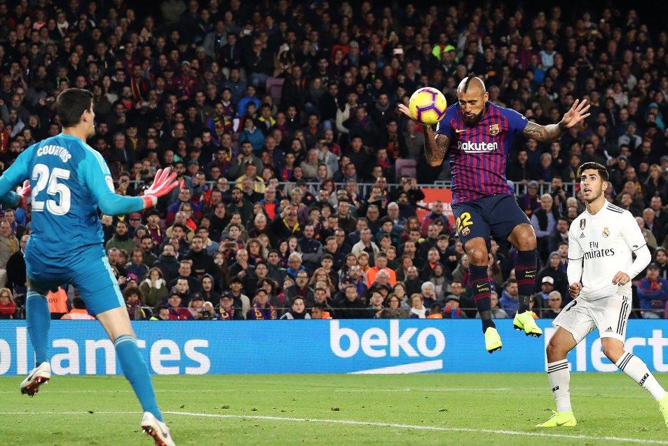 Fotos] Así fue el primer gol de Arturo Vidal en Barcelona con Real Madrid  como víctima - AlAireLibre.cl