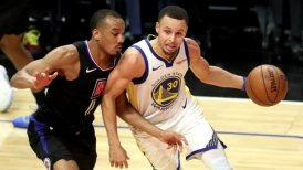 Stephen Curry comandó triunfo de Golden State Warriors ante Los Angeles Clippers