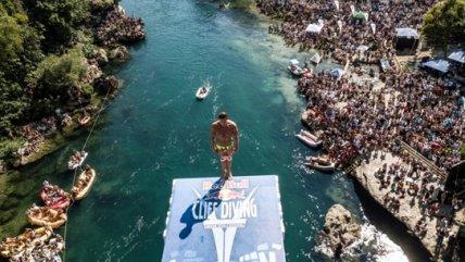 Red Bull Cliff Diving llegó a Bosnia y Herzegovina para la