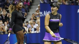 La final del US Open femenino entre Serena Williams y Bianca Andreescu