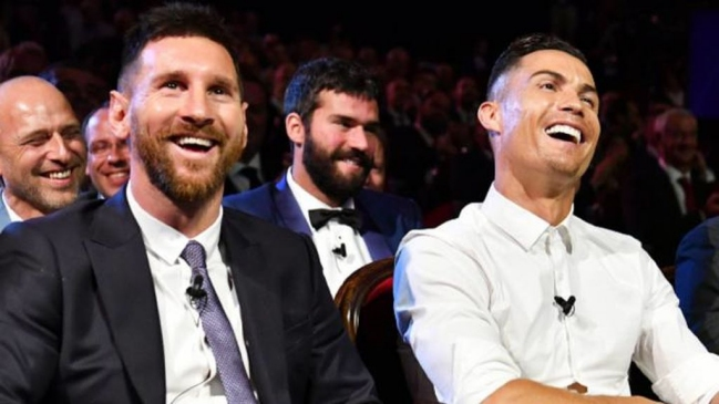 Lionel Messi y Cristiano Ronaldo lideran el once ideal de la década de France Football