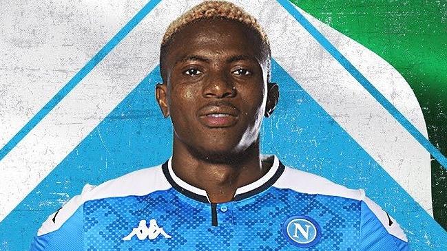 Napoli Hizo Oficial El Fichaje Del Nigeriano Victor Osimhen Alairelibre Cl