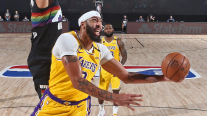 Anthony Davis y LeBron James combinaron 60 puntos en el triunfo de Los Lakers ante Denver