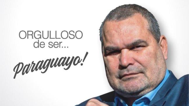 José Luis Chilavert anuncia su candidatura a la presidencia de Paraguay