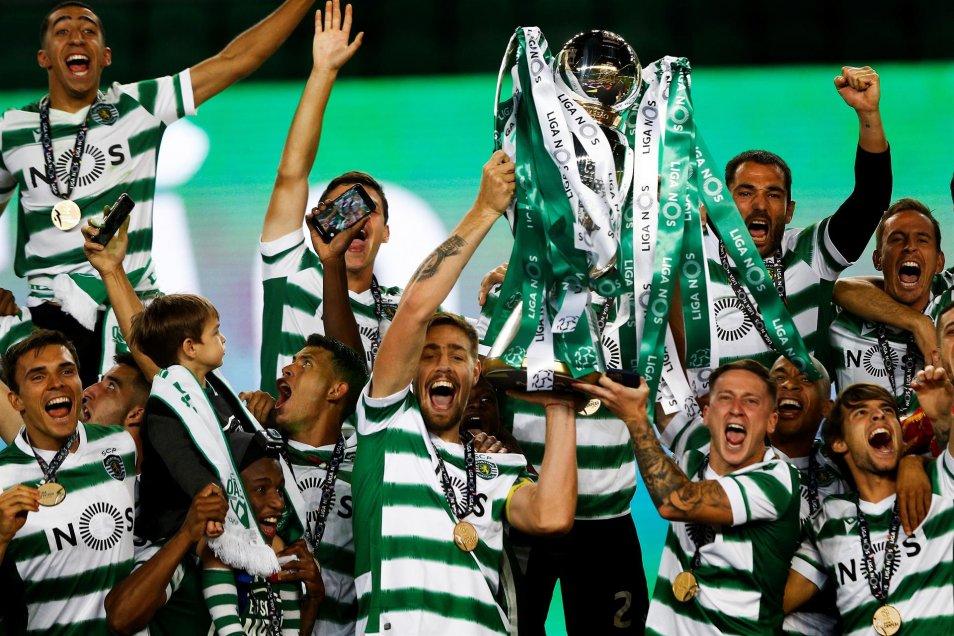 Fotos] Sporting de Lisboa se proclamó campeón de la liga de Portugal  después de 19 años - AlAireLibre.cl
